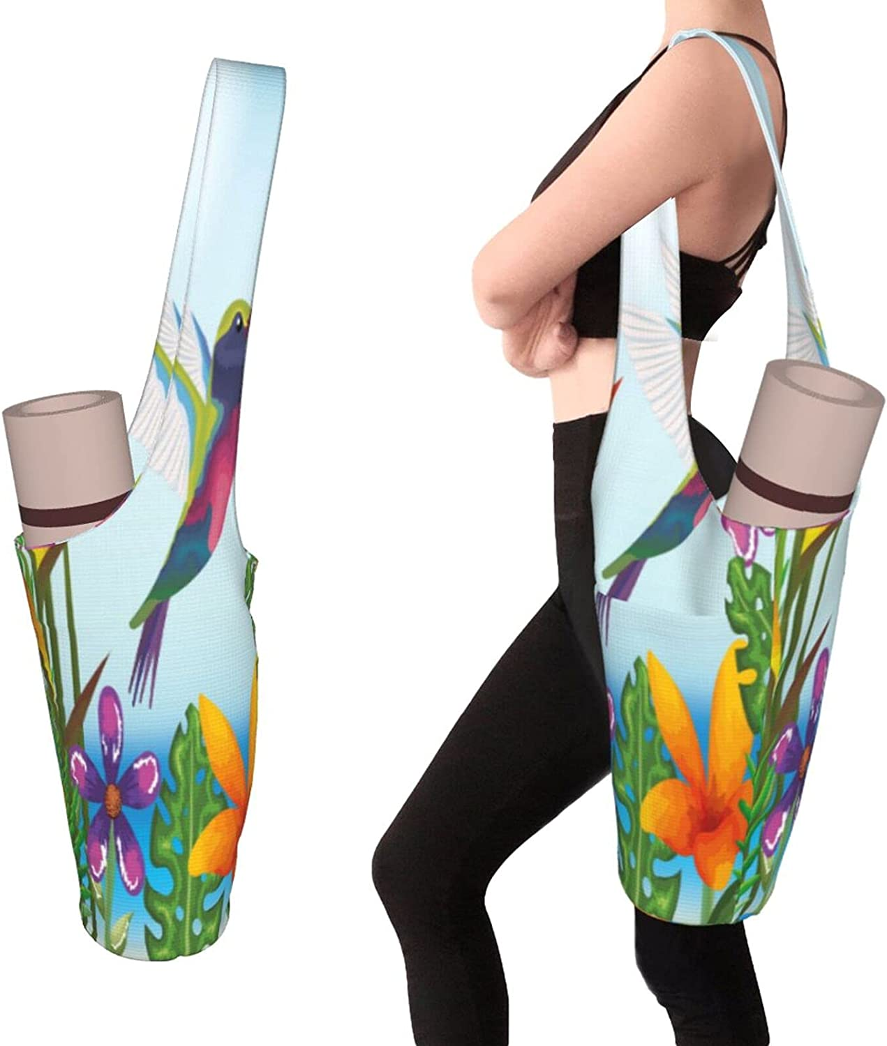 Yoga Mats Bag With Chicago Mall Same day shipping Pockets Size Access Thick Large Men