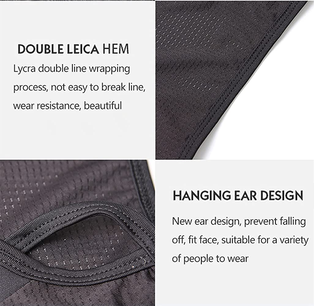 Face Cover Neck Gaiter Cool Breathable Quick Dry Dustproof Men & Women Outdoors Sports