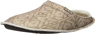 Crocs Men's Classic Cable Knit Slipper Mule