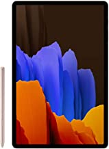 SAMSUNG Galaxy Tab S7+ Plus 12.4-inch Android Tablet 128GB Wi-Fi Bluetooth S Pen Fast-Charging USB-C Port, Mystic Bronze