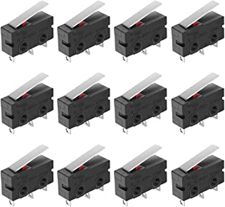 R REIFENG 6 Pack Mechanical Endstop Limit Switch Module Endstop Switch Horizontal Type with 1M Cable for 3D Print Parts Ramps1.4