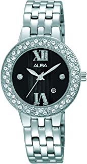 Alba Stainless Steel Casual Watch For Women , AH7H43X1