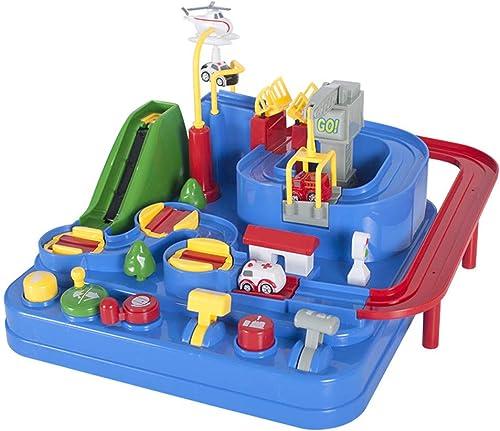 Peggy Gu Lernspielzeug für Kinder Abenteuer In Fancy Adventures In Rekrut Auto Orbit Luxury Tr eit Aufzug Slide Rail Kinder Spielzeug Denksportaufgaben Spielzeug Lehrreich