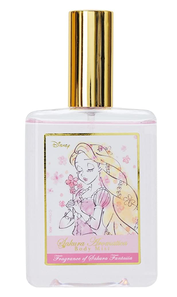 生き返らせる聖なる代替案ディズニー ボディミスト ラプンツェル サクラアロマティカ サクラファンタジアの香り 75ml DIT-4-02