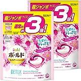 【まとめ買い】 ボールド 洗濯洗剤 ジェルボール 3D 癒しの プレミアムブロッサムの香り 詰め替え 超ジャンボ 46個入 × 2個