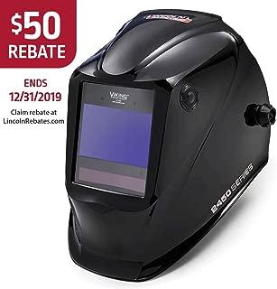 Lincoln Electric Viking 2450 Black, Auto Darkening Welding Helmet with 4C Lens Technology, K3028-4