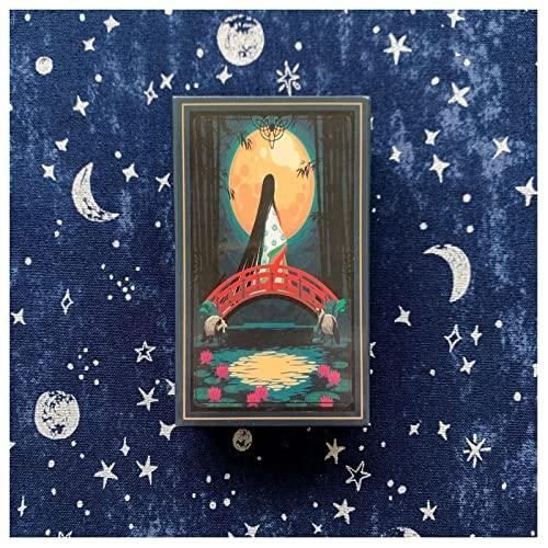 HXGLPSNG Tarot of The Divine, una baraja y una guía inspirados en Las deidades, el folclore y los Cuentos de Hadas de Todo el Mundo - Juego de Cartas del Tarot