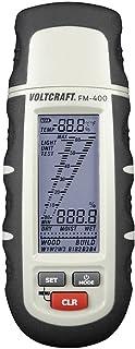 VOLTCRAFT FM-400 Fuktmätare för material Mätområde byggfukt 0.1 till 24 % vol Måtområde träfuktighet 1 till 60 % vol
