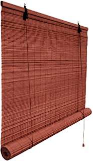 Victoria M. - Persiana de bambú para Interiores, Color Cereza, tamaño: 130 x 220 cm