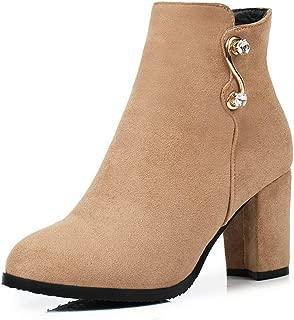 BalaMasa Womens ABS14065 Pu Boots