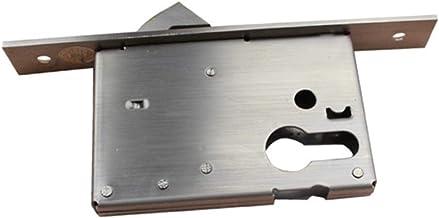 Deurslot Single Hook Mortise Lock Body Roestvrij Tong Hardware Accessoires Exterieur Lock Glijden Duurzaam (Color : Stainl...