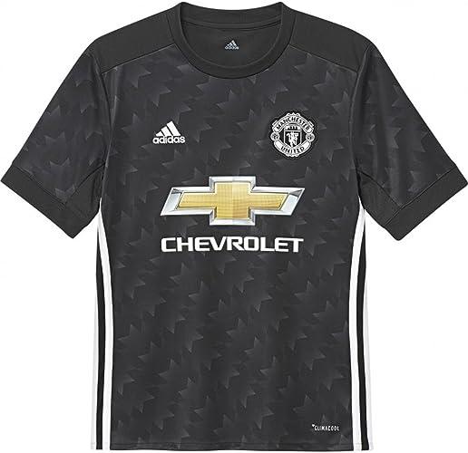 Adidas Enfants 'Manchester United Away Soccer Jersey 2017 18(Noir)