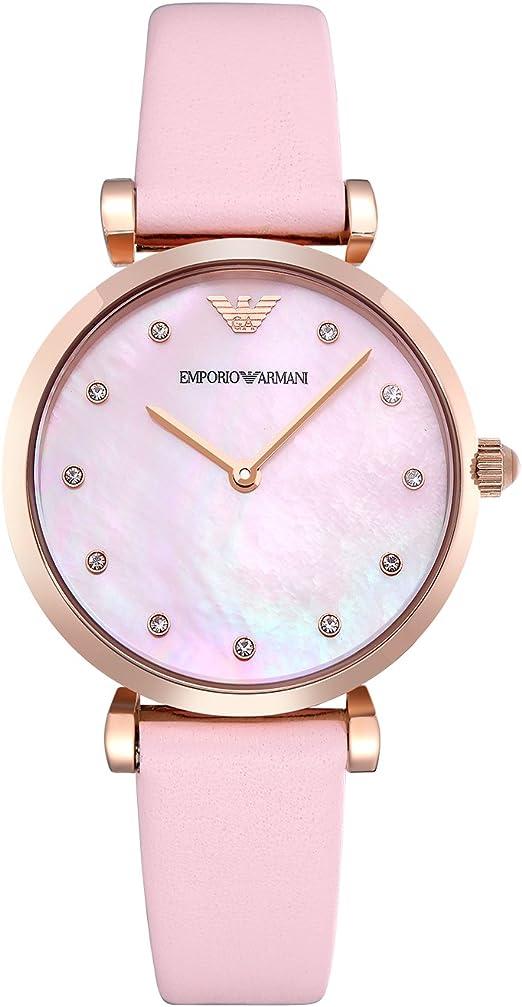 Emporio Armani Reloj Analógico para Mujer de Cuarzo