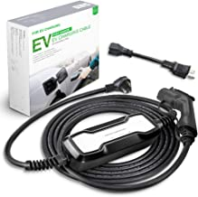 NEMA 6-20p and NEMA 5-15P 85V-265V SAE J1772 Compatible with All veh/ículos electricos EV charger 20Amp Level 2 Portable Electric Vehicle Charger