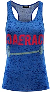 YEMOCILE Womens Sleeveless Nice Rack Letter Printed T Shirt Vest Workout Tank Top Singlets