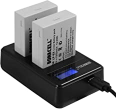Bonacell LP-E8 Battery and LCD Dual Charger Comaptible with Canon EOS Rebel T5i, T4i, T3i, T2i, EOS 550D, 600D, 650D, 700D...