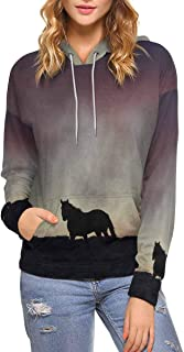 Custom Stylish Cool Design Women's Pullover Hoodies Sweatshirt