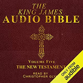The King James Audio Bible New Testament Complete cover art