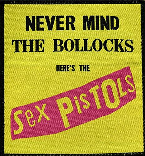 Aufnäher Patch - Sex Pistols Nevermind The Bollocks
