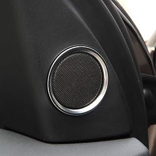 Superficie in fibra di carbonio per Discovery sport ABS alzacristallo switch Frame Trim adesivi 4pcs