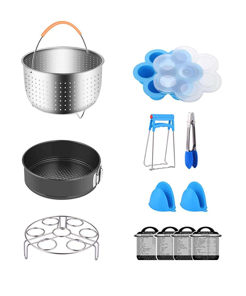 Fopurs Pressure Cooker Accessories Set, Compatible with Instant Pot 5,6,8 QT or Other Electric Pressure Cookers, 12pcs