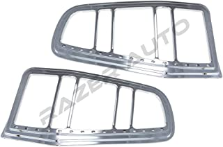 Razer Auto Chrome LED Tail Light Bezel w/Turn Signal and Brake light for 10-12 Ford Mustang