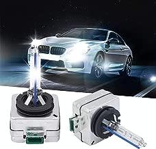 D1S D1R HID Xenon Bulb 35W Light Xenon Lamp Headlight Bulbs 6000k Replace OEM 2pcs (D1S, 6000K)