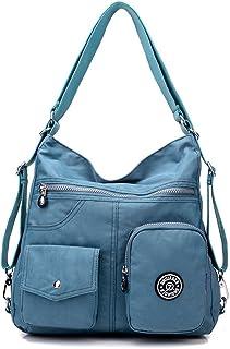 KARRESLY Damen Handtaschen Hobo Schultertaschen Tote Nylon Große Kapazität Taschen Rucksack/Schultertasche