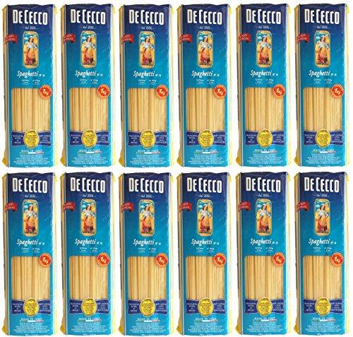 De Cecco Spaghetti N°12 (12 X 1kg)