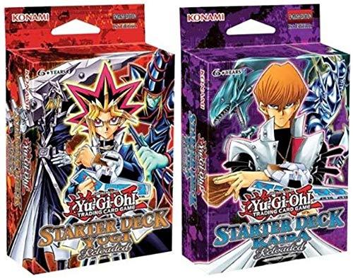 2 Decks Iniciais Yu-Gi-Oh! Yugi e Kaiba Reloaded Konami Cards Cartas