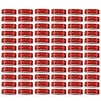 Shop4Mailers 本商品はレッドラベルを分けないでください 1インチ x 2インチ 500巻 72 Rolls