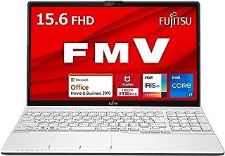 【公式】 富士通 ノートパソコン FMV LIFEBOOK (MS Office 2019/マウス付属/Win 10/15.6型/Core i7/8GB/SSD 512GB/DVD) AHシリーズ AZ_WA3E3_Z734