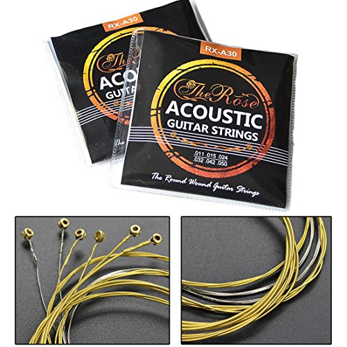 WSS - 6 Pcs Replacement Acoustic Classic Guitar Strings For 3/4 Guitar...