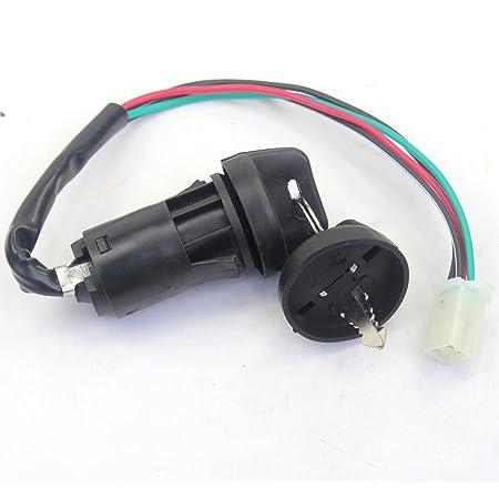 X-PRO Ignition Key Switch for ATVs 50cc-250cc Quad 4 Wheeler Taotao