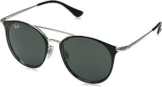 RJ9545S Round Kids Sunglasses, Silver On Top Black/Green,...