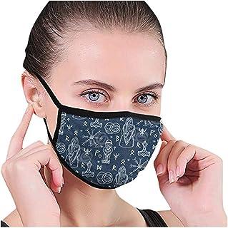 con Banda Ajustable para Los O/ídos NINGNETI Moda Dos Capas Transpirables Faciales visera 3D Reutilizable y Lavable Antipolvo Protector Faciales para Deportes al Aire Libre