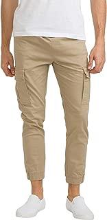 bossini Metropolitan Elasticised Slim Fit Men Cuffed Multiple Pockets Pants
