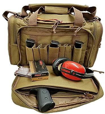 PARISUN Explorer Range Bag Shooting Tactical Assault Gear Hiking Waist Bag Shoulder Backpack EDC Camera Bag MOLLE Modular Deployment Compact Utility Military Surplus Gear Heavy Duty