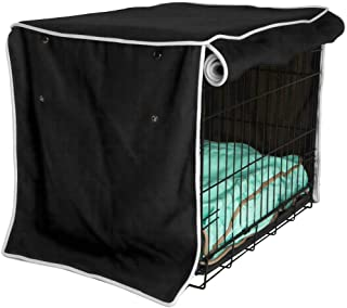 Durable Dog Crate Cover, Waterproof f&Dustproof&Ventilation Pet Kennel Cloth Cover, Universal Fit for Wire Dog Crate, Satisfaction Guarantee, Year Protection for Your Pet Dog Crate