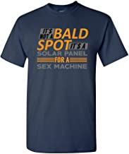 It's Not A Bald Spot It's A Solar Panel Funny Humor DT Adult T-Shirt Tee