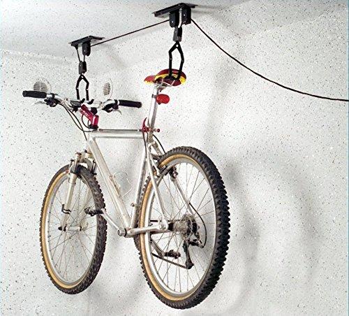 hibuy Fahrradlift, Deckenhalter für Fahrräder, der perfekte Helfer für jedes Fahrrad.
