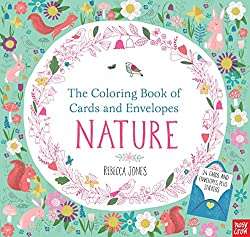 The Coloring Book of Cards and Envelopes: Nature by Rebecca Jones