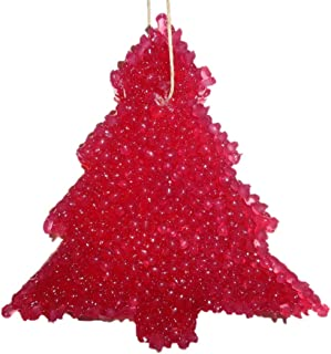 ChicWick Car Candle Spiced Cranberry Christmas Tree Shape Car Freshener Fragrance