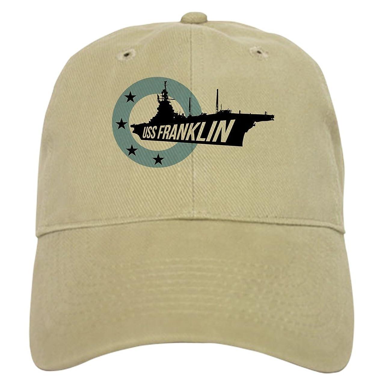 CafePress USS Franklin 4 Baseball Baseball Cap
