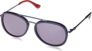 Óculos De Sol Tigor T Tigre, Preto e Vermelho, 50