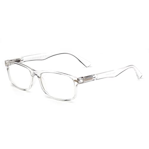 0792ffcbba8 Newbee Fashion - Unisex Translucent Simple Design No Logo Clear Lens Glasses  Squared Fashion Frames
