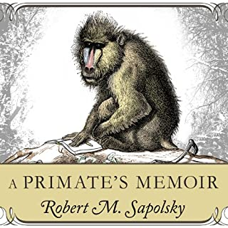 A Primate's Memoir audiobook cover art