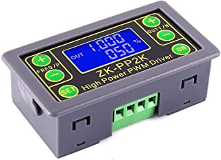 ZHITING Generador de señal PWM, DC 3.3V-30V Ciclo de Trabajo de frecuencia de Pulso Módulo de Onda Cuadrada Rectangular Aj...