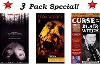 3 Pack Special!! The Blair Witch Project, Book of Shadows: Blair Witch 2 & Curse of The Blair Witch