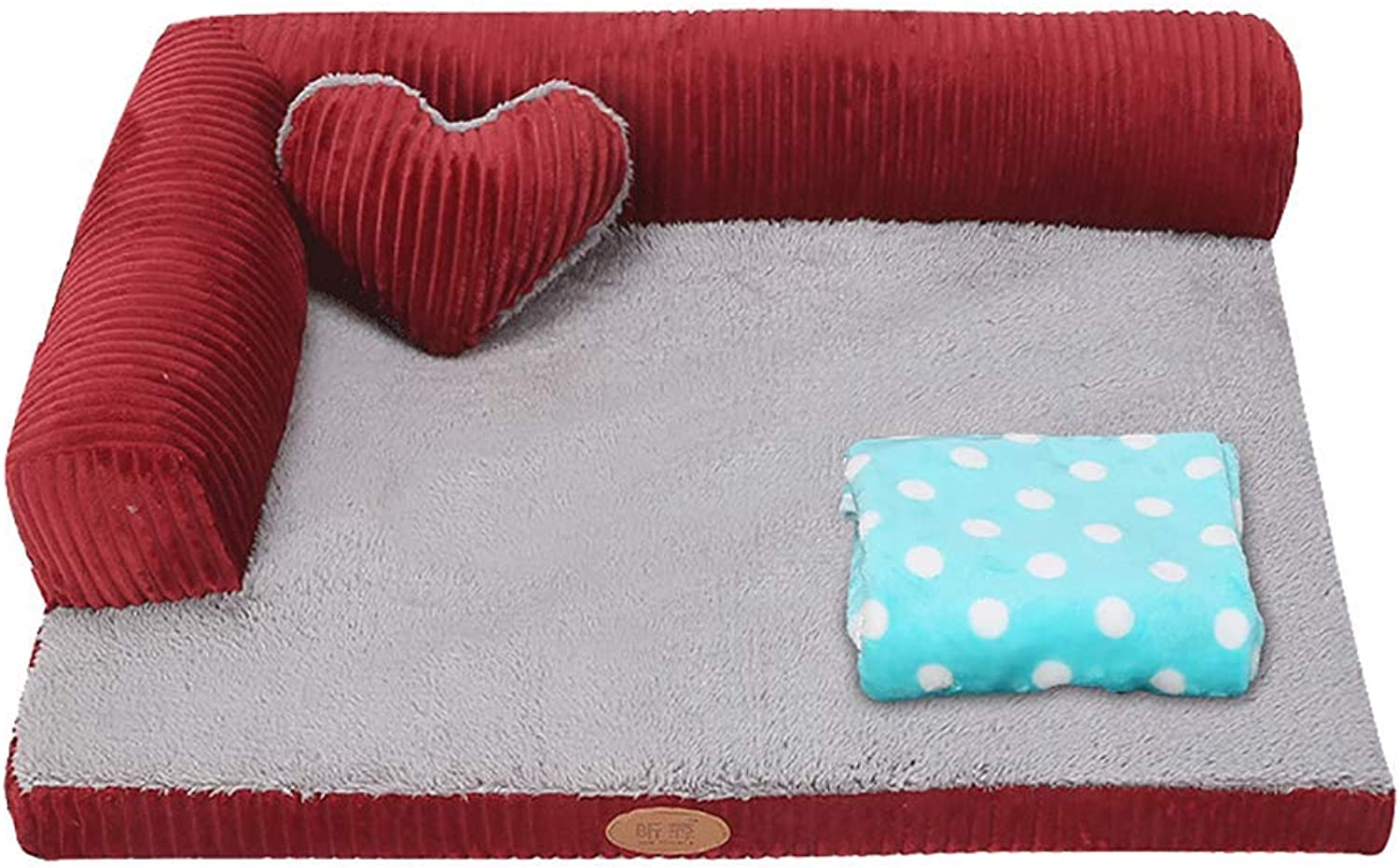 Pet Bed Memory Sponge Pet Bed Sofa House for Dog Cat,Washable Covers,Durable Oxford Fabric, Kennel Available in All Seasons (color   3)